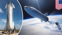 Elon Musk unveils first full Starship prototype
