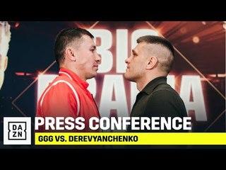 GGG vs. Derevyanchenko Final Press Conference