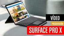 Microsoft Surface Pro X con procesador ARM