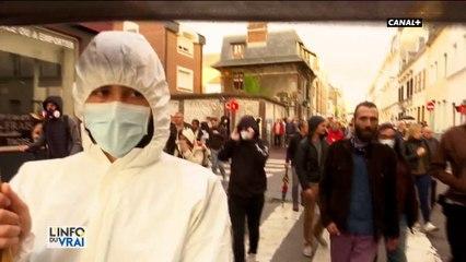 """Explosion à Rouen : Les manifestants réclament """"la vérité"""""""