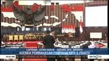 Rapat Pemilihan Pimpinan MPR Digelar Hari Ini