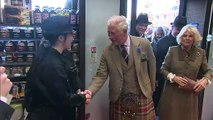 Charles and Camilla's visit to Stonehaven, Scotland