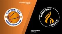 Maccabi Rishon Lezion - Promitheas Patras Highlights | 7DAYS EuroCup, Regular Season Round 1