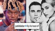 KSI Reacts To Justin Bieber Diss After Getting Married