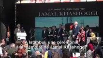 A Istanbul, une cérémonie à la mémoire de Jamal Khashoggi