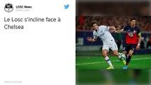 Ligue des champions : Lille concède sa deuxième défaite en Ligue des champions face à Chelsea