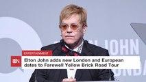 Elton John Adds Tour Dates