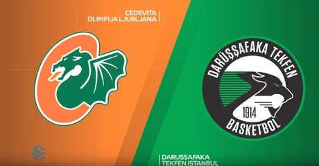 7Days EuroCup Highlights Regular Season, Round 1: Olimpija 73-79 Darussafaka