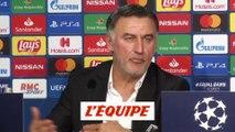 Galtier «Un écart important entre les deux équipes» - Foot - C1 - Losc