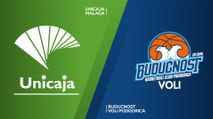 Unicaja Malaga - Buducnost VOLI Podgorica Highlights | 7DAYS EuroCup, Regular Season Round 1
