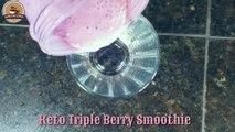 Triple Berry Smoothie