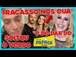 Leo Dias chama jornalistas de invejosos ao defender Anitta + Sandy e Junior baixam ingressos nos EUA