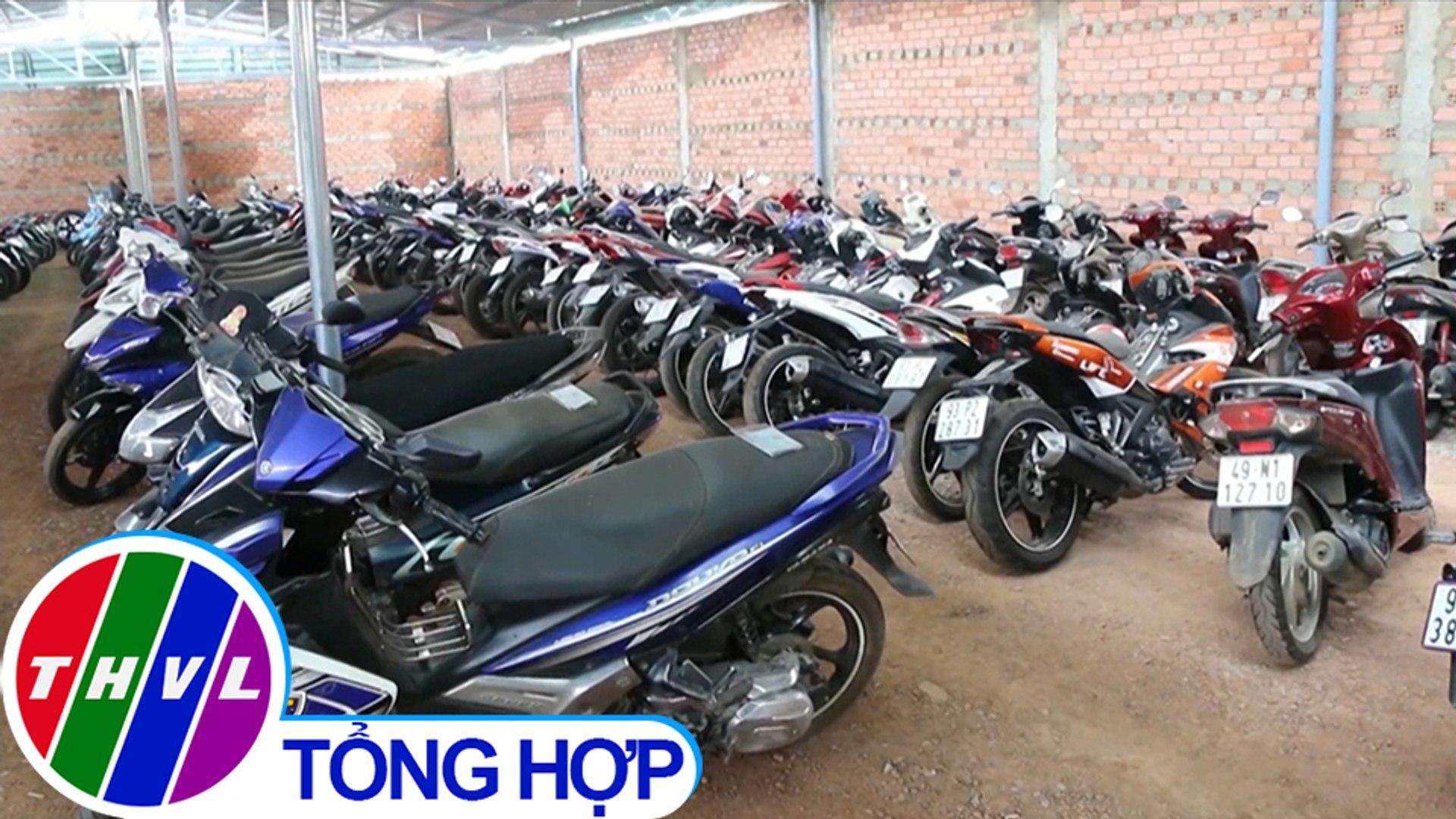 THVL | Phát hiện hàng trăm xe máy không chính chủ trong các cửa hàng cầm đồ