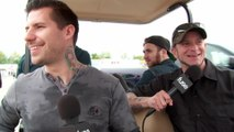 All That Remains Cruise Rock 'N Derby 2016 In A Golf Cart