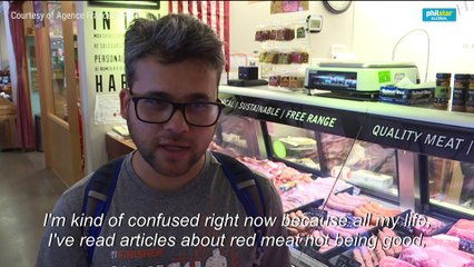 US butcher and customers react as study reveals red meat may not be so unhealthy