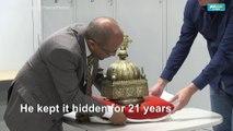 Hidden for 21 years, Ethiopian crown set to return home