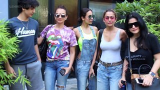 Malaika Arora SPOTTED With Son Arhaan After Lunch