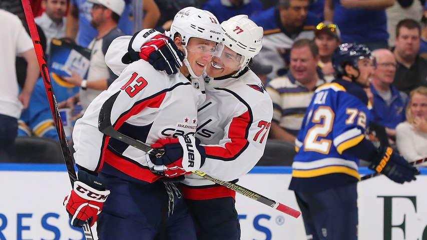 Jakub Vrana wins the game in overtime for Capitals