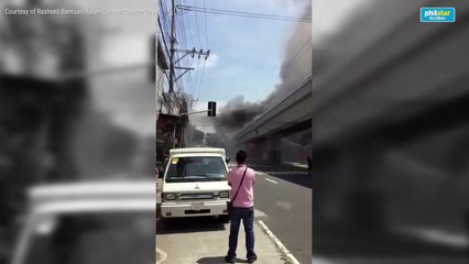 Fire breaks out at LRT 2