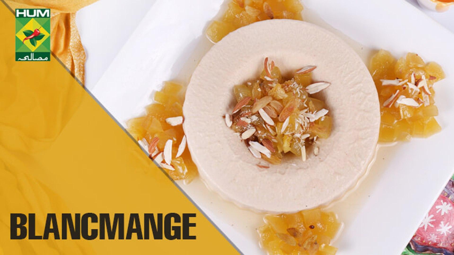 All-time favorite Gelatin Dessert | Blancmange | Food Diaries | Masala TV Show | Zarnak Sidhwa
