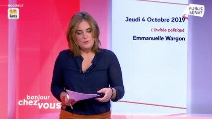 Emmanuelle Wargon - Public Sénat jeudi 3 octobre 2019