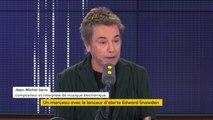 """Jean-Michel Jarre : """"Il faudrait accueillir"""" Edward Snowden en France"""