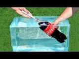 EXPERIMENT MENTOS and Coca Cola UNDERWATER