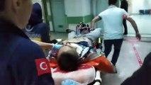 Eşi ve çocuğunun gözü önünde kendini vurdu