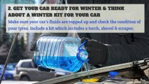 Winter - Eight things you should do to prepare for winter