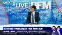 Retraites: 500 Français face à Macron (2) - 03/10