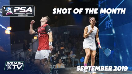 Squash: Shot of the Month - September 2019