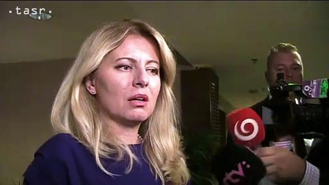 Z. Čaputová: Na samite V4 by sme mali hovoriť aj o rozširovaní EÚ