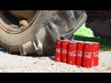 EXPERIMENT TRACTOR vs COCA COLA