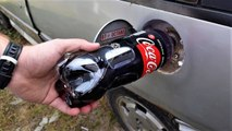 POURED COCA COLA ZERO IN A RESERVOIR - Does the car work