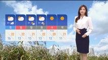 [날씨] 구름 사이 가을볕…주말 부쩍 선선해져