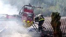 Wildenstein : Incendie, le CD 13 bis fermé à la circulation