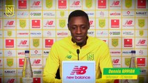 Dennis Appiah avant FC Nantes - OGC Nice
