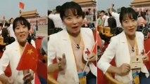 Chinese Women Speakes Tamil | கொஞ்சும் தமிழில் பேசும் சீனப்பெண்-வீடியோ