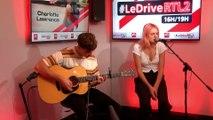Charlotte Lawrence en live et en interview dans #LeDriveRTL2