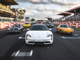 Première apparition en France de la Porsche Taycan