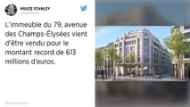 Sur les Champs-Élysées, l'immeuble Nike vaut plus que celui d'Apple