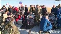 Drei Astronauten sicher von der ISS zurück