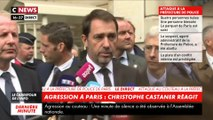 Attaque au couteau à la préfecture de police de Paris : Christophe Castaner évoque l'agresseur