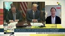 """EEUU: Trump califica como """"golpe de estado"""" impeachment en su contra"""