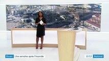Incendie de l'usine Lubrizol à Rouen : beaucoup d'inquiétude chez les habitants