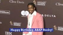 ASAP Rocky Celebrates His Birthday