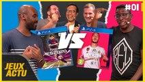 FIFA 20 VS PES 2020 : qui est le meilleur ? LE CLASH ! - L'ÉMISSION JEUXACTU #01