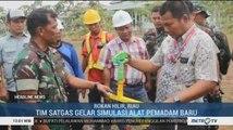 Tim Satgas Lakukan Simulasi Alat Pemadam Baru untuk Cegah Karhutla di Riau