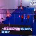 A la découverte du drone soccer
