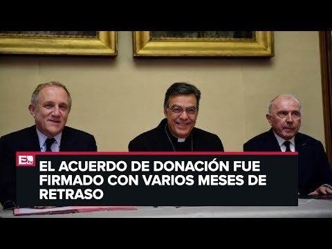 Magnates Pinault donan 100 millones de euros a Notre Dame